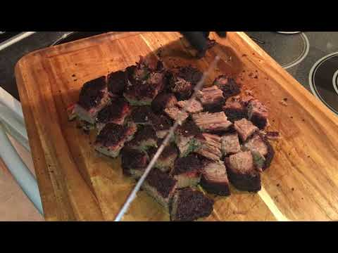 Burnt Ends from Brisket Point