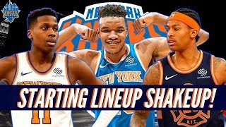 New York Knicks News| Kevin Knox Benched!| Frank Ntilikina Starting!| LIVE From MSG