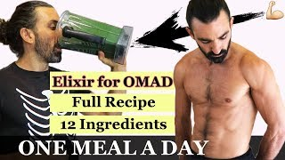 My supplementation on OMAD || Amen Ra Elixir || ONE MEAL A DAY