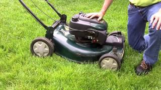 Mowing Height:  Setting Correct Mowing Height On Lawn Mower