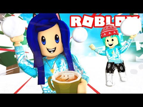 ROBLOX SNOWBALL FIGHTING SIMULATOR!