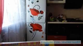 Виниловая наклейка на холодильник №2(, 2014-09-15T17:09:49.000Z)