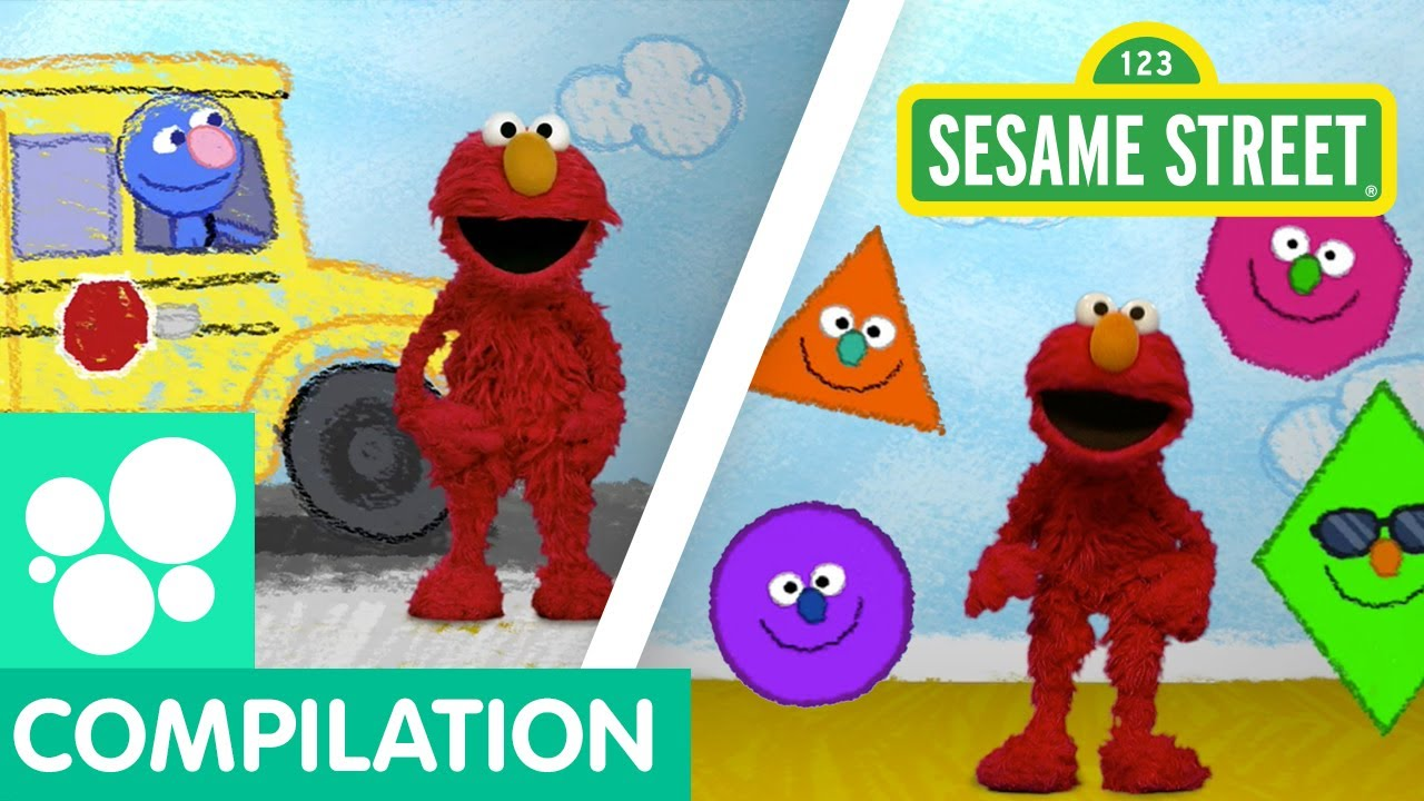 Download Sesame Street: Back to School with Elmo | Elmo's World Compilation!