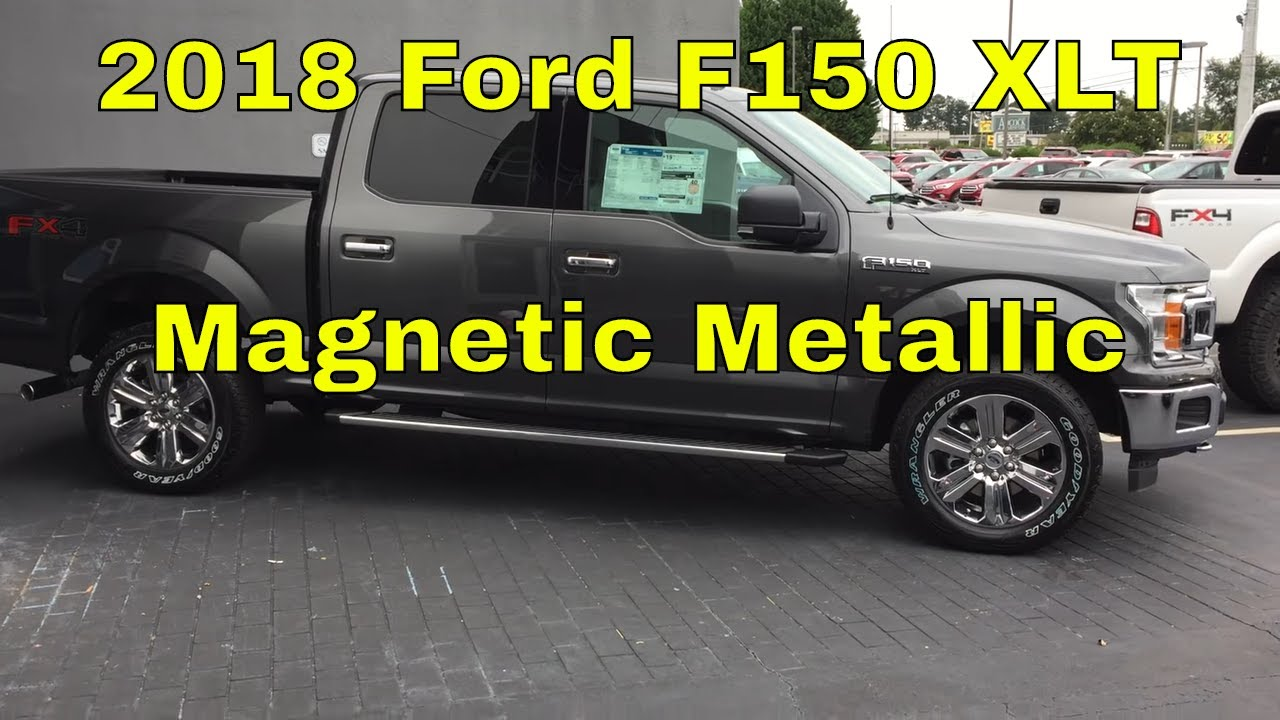 2018 Ford F150 Xlt Magnetic Metallic Exterior Walk