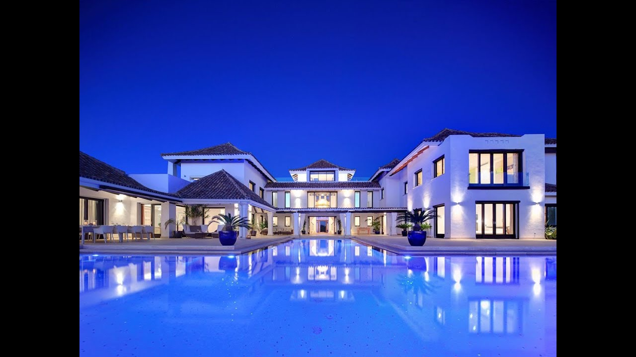 La zagaleta dream villa for sale panoramic views for Mansion with pool for sale