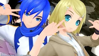 Project Diva F 2nd DoubleGanger Rin and Kaito