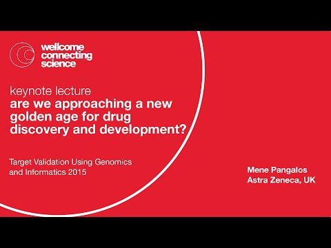 Are we approaching a new golden age for drug discovery and development? - Mene Pangalos