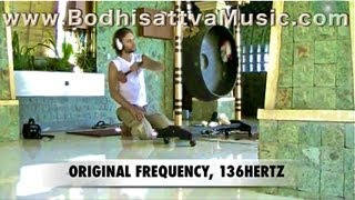 EARTH GONG - Healing Gongs of Bali - Healing Music - Planets and Tones -