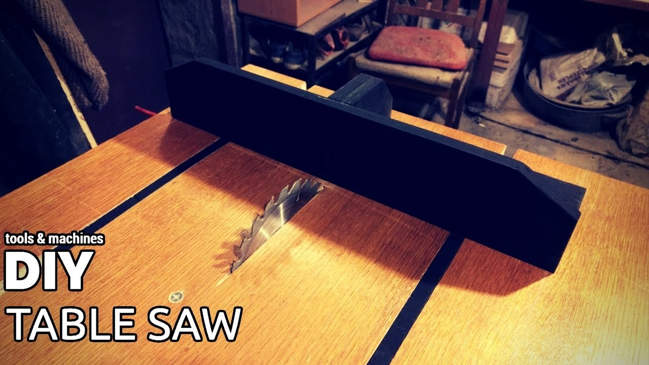 DIY table saw (part 3 - crosscut sled)