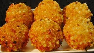 Sabudana Vada (crispy Sago Patties)