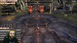 Bajheera - ESO: Morrowind 4v4v4 BG First Look Gameplay! - Level 14 Dragonknight PvP xD