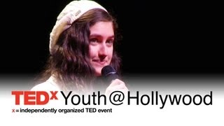 You Only Live Once: Leya Aronoff at TEDxYouth@Hollywood