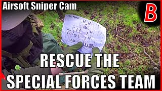 Airsoft Sniper Cam - RESCUE THE SPECIAL FORCES TEAM! | Bodgeups Airsoft