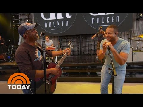 The Laurie DeYoung Show - Watch Today Show Anchor Craig Melvin Sing With Darius Rucker!