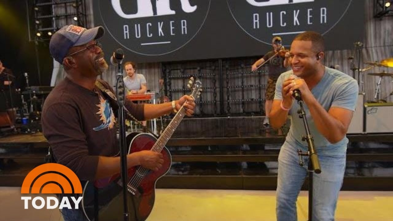 See Craig Melvin Sing Hits With Darius Rucker | TODAY