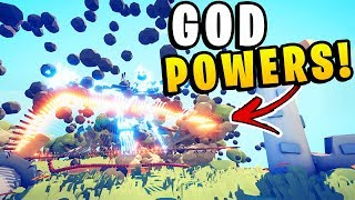 TABS - BEST MOD YET! I HAVE GOD POWERS! 10,000 Boulders - Totally Accurate Battle Simulator