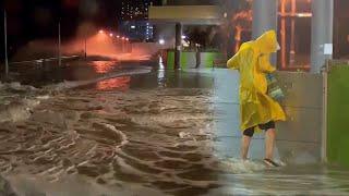 홍콩, 잇단 태풍에 직장·학교·증시 폐쇄 / 연합뉴스TV (YonhapnewsTV)