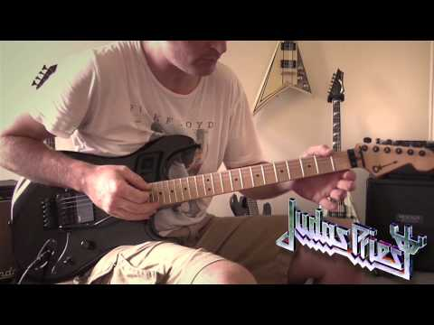 Judas Priest - A Touch Of Evil Guitar Cover