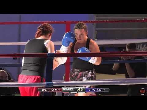 SPARTA & ATB present FIGHT NIGHT: Crysta Williams v Christina Breault