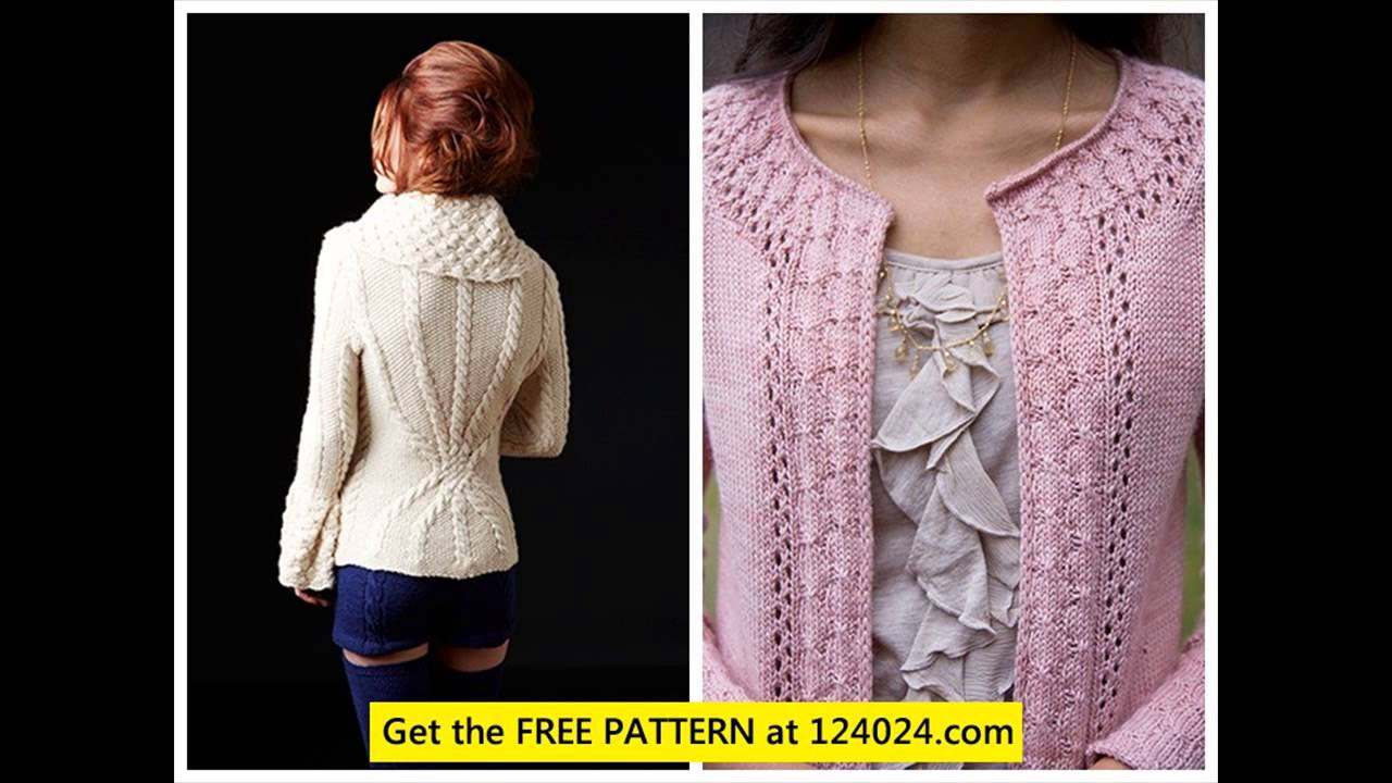 Long Knit Cardigan Cardigan Knitting Patterns Womens Chunky Knit