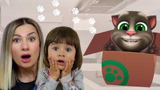 Мой Говорящий Том 2 в РЕАЛЬНОЙ ЖИЗНИ | Истории для детей про веселого Котика Тома