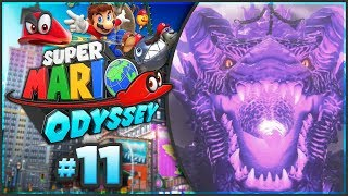 Super Mario Odyssey - Ruined Kingdom 100% Walkthrough! [Part 11]