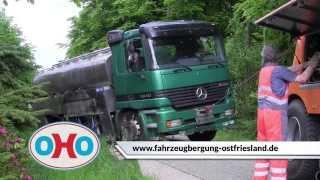 Fahrzeugbergung Ostfriesland - LKW Bus Bau- und Landmaschinen