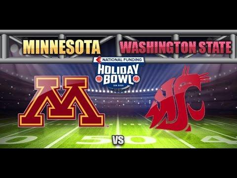 2016 Holiday Bowl Simulation - Minnesota vs. Washington State
