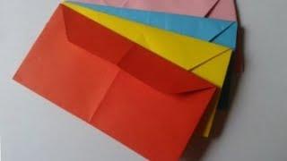 видео Как сделать конверт из бумаги для письма, денег: руководство