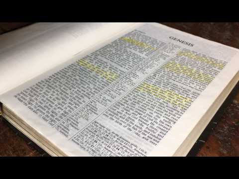 DAY 1 - MON (GENESIS 1-5) READ THROUGH THE BIBLE IN ONE YEAR