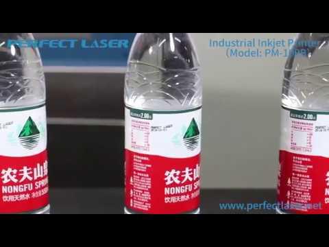 Hot Sale Industrial Inkjet Printer on Water Bottle