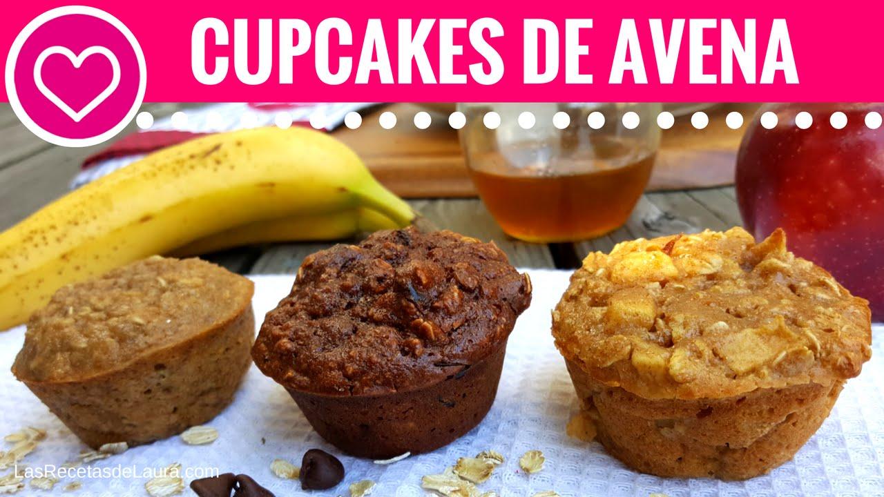 3 recetas faciles de cupcakes saludables las recetas de - Comidas saludables y faciles de preparar ...