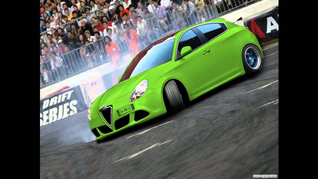 virtual tuning 110 alfa romeo giulietta drift photoshop hd youtube. Black Bedroom Furniture Sets. Home Design Ideas