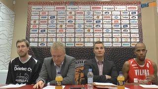 Karhubasket - Vilpas 14.10.2015 Postgame
