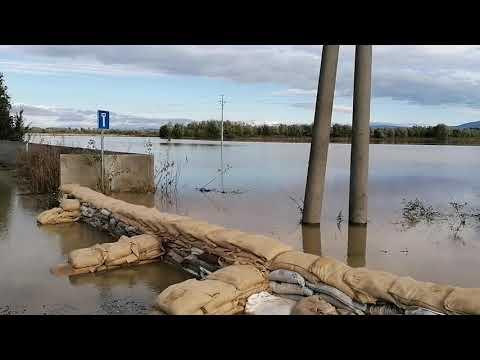 Čaňa 15.10.2020 o 10.50hod. Záplavy