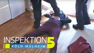 """""""Scheiße, die Bullen!"""" - Polizisten müssen Waffe ziehen!   Inspektion 5   SAT.1 TV"""