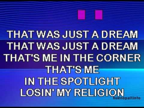R.E.M. - Losing My Religion KARAOKE