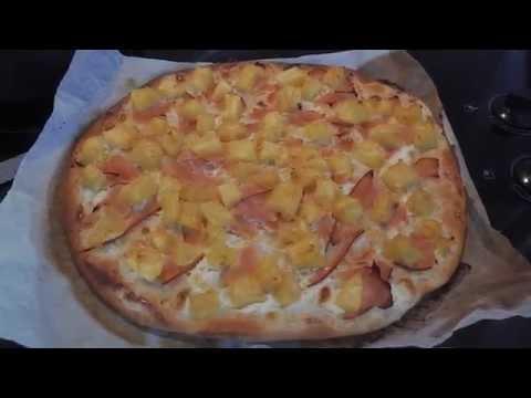 recette-pizza-très-facile-et-rapide-:-poulet-ananas-crème