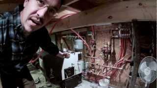 Harman Pb105 Pellet Boiler Introduction - 101 - My Diy Garage Build Hd Time Lapse