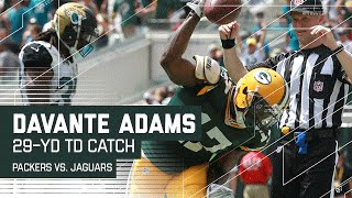 Aaron Rodgers' Incredible Pass to Davante Adams for the TD! | NFL