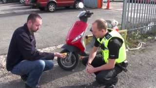 How to protect your motorbike from thieves