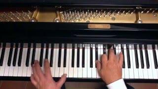 Tutorial piano y voz Negra sombra ( Luz Casal )