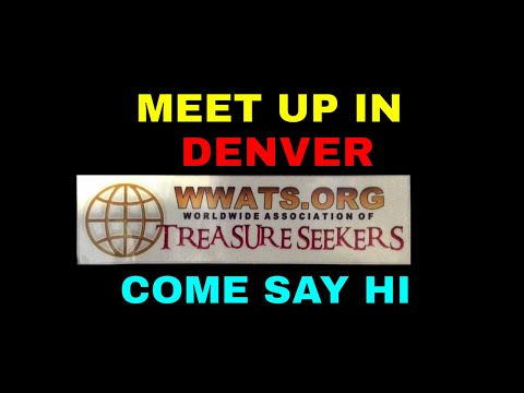 Treasure Hunters meeting up in Denver at the 2019 Sportsmans Expo WWATS booth 2307C