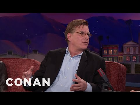 "Aaron Sorkin: David Fincher Was My Yoda For ""Molly's Game""  - CONAN on TBS"