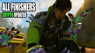 Apex Legends All Finishers UPDATED with Crypto (Season 3: Meltdown)