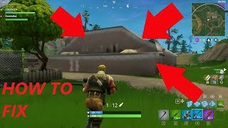 Comment corriger Weird Texture Glitch sur Fortnite!