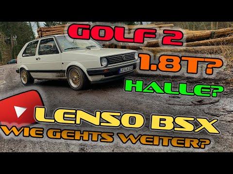 Golf 2 Lenso BSX Felgen // Wie geht es weiter?