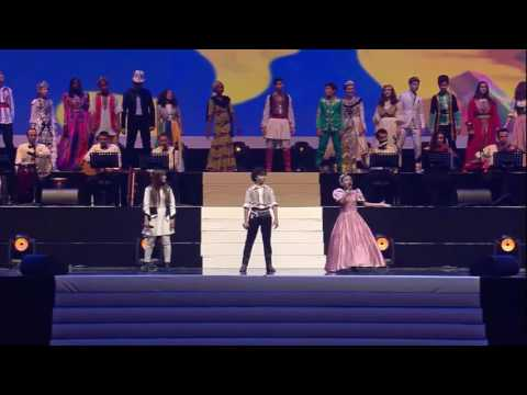 Kids from all over the world sing Heal the world  Michael Jackson