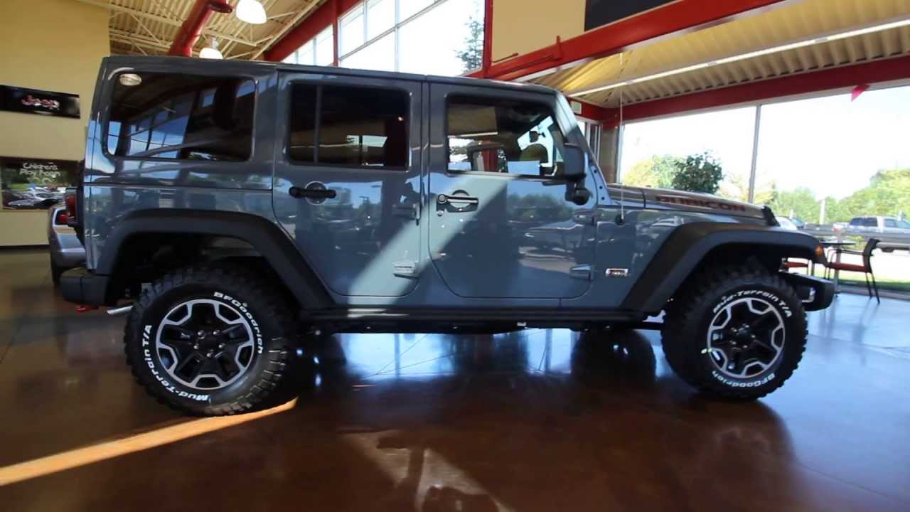 Dl678268 2013 Jeep Wrangler Unlimited Rubicon 10th