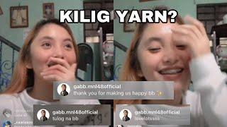 Download lagu MNL48 Amy matutulog lang pag si Gabb na nagpatulog sakanya - IG live 1/3/21